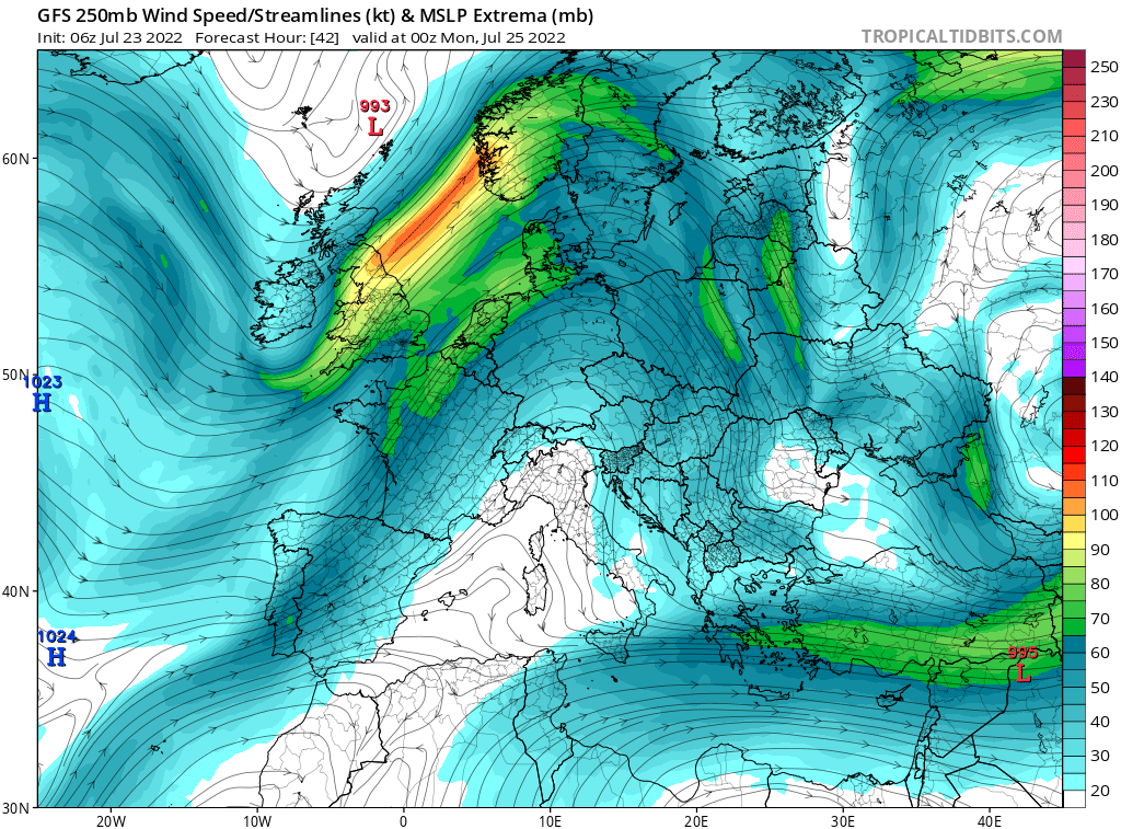 map for 250mb Europe Analysis - 42