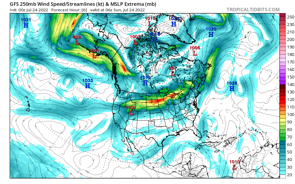 map for 250mb Canada and Mexico Analysis - 06