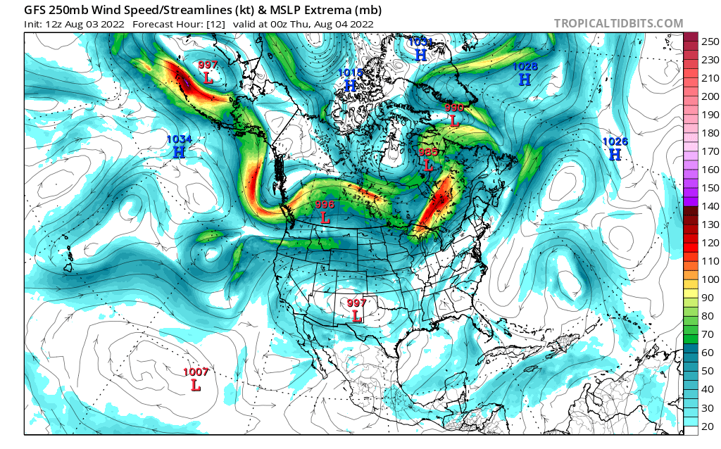 map for 250mb Canada and Mexico Analysis - 12