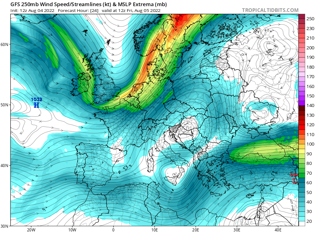 map for 250mb Europe Analysis - 24